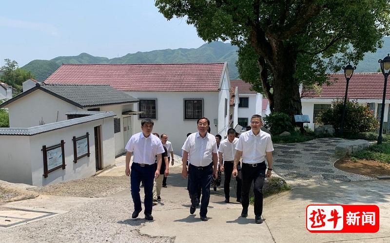 绍兴市委书记马卫光来嵊调研经济社会发展情况